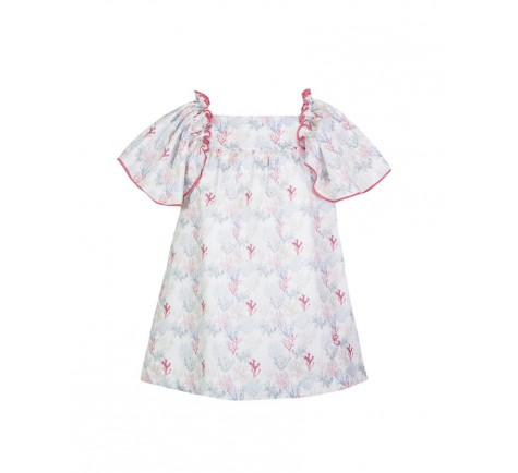 Vestido Eve Children coral