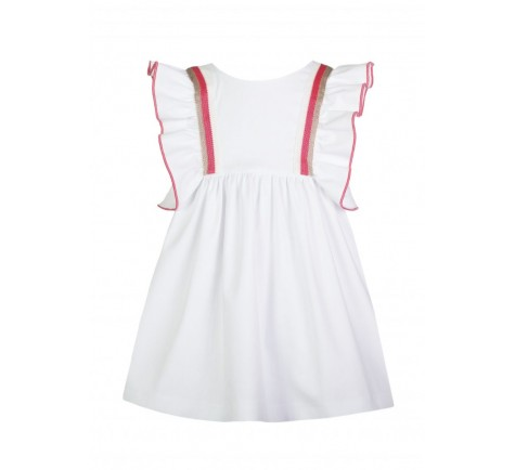 Vestido Eve Children  blanco corale